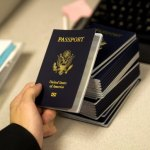 US passport - image via AFP